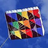 Rainbow Tecmo Parafoil P-60 Airfoil Kite