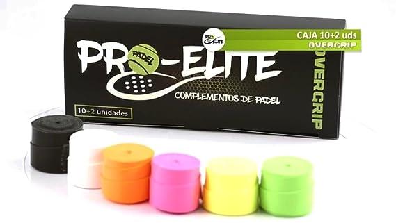 overgrips Pro Elite Confort Lisos (Elige Tus Colores). Caja 10+2 ...