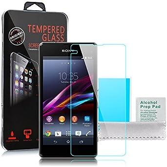 Sony Xperia Z1 Compact - incluye Protector de pantalla de cristal ...