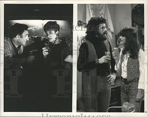 1990 Radio b newspaper people Photo Judd Hirsch, Leslie Bevis & Peter Smith on Dear John, on NBC.
