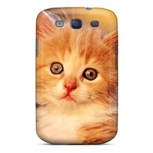 For Sweet Baby Cat Protective Case Cover Skin/galaxy S3 Case Cover