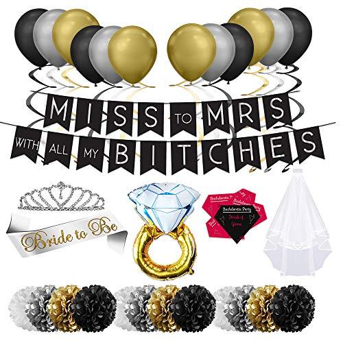 Joli - Bachelorette Party Decorations Kit, Bridal Shower,