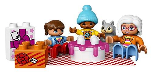 516K267MzYL - LEGO DUPLO My Town Birthday Party 10832, Preschool, Pre-Kindergarten Large Building Block Toys for Toddlers