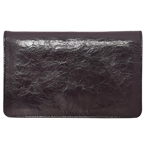 Latico Leathers Palmer Wallet Genuine Authentic Luxury Leather, Designer Made, Business Fashion and Casual Wear, Black by Latico