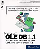 Microsoft Ole Db 1.1 Programmer's Reference and Software Development Kit, Microsoft Official Academic Course Staff, 1572316128