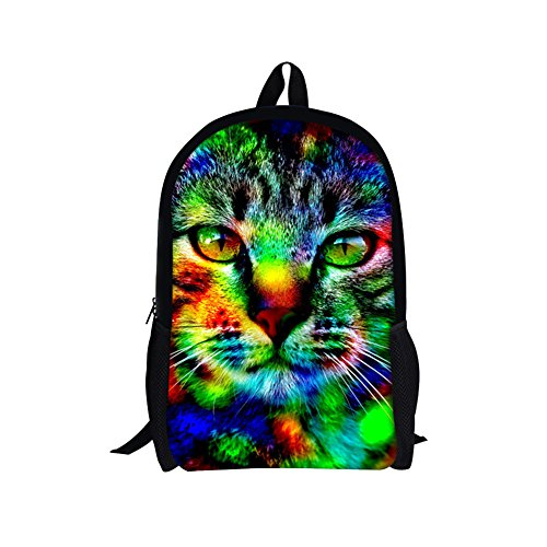TOREEP Galaxy Print Casual School Backpack Outdoor Travel - Optical Store Near Me Glasses