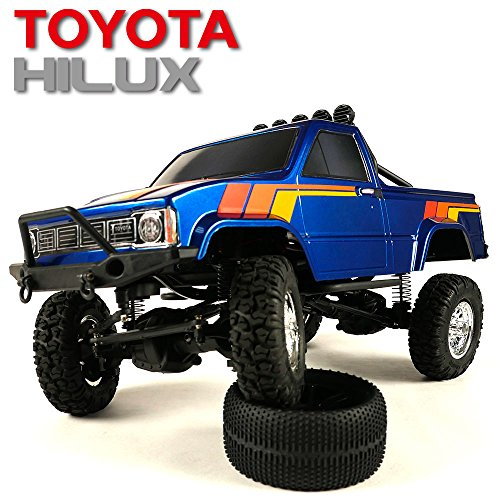 Thunder Tiger TOYOTA HILUX 1/12 PICK-UP TRUCK RTR (BLUE)