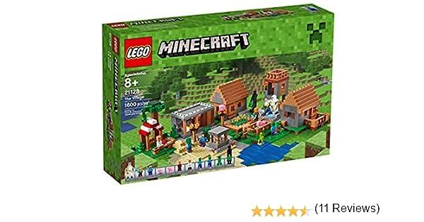 LEGO The Village - Juegos de construcción (21128) compatible con LEGO Minecraft: Amazon.es: Juguetes y juegos