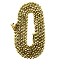 Sunlite 04000-SU E170 Brass 36+C23 Inch Beaded Chain