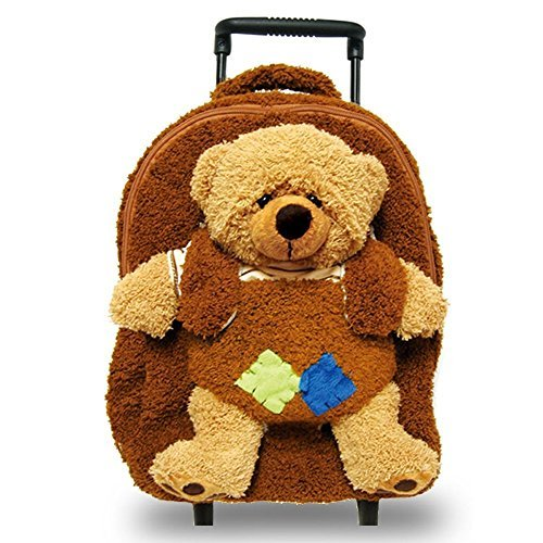 Pecoware Bear Backpack with Removable Roller by - Bear Pecoware