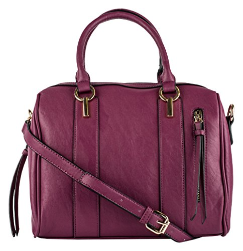 Price comparison product image Dot Dash Fayth Satchel (Burgundy)