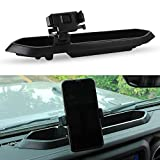 SUNPIE Dash Tray Mount Phone Holder for Jeep Wrangler JL JLU 2018 2019 2020 Jeep JT Gladiator (Interior Accessories)