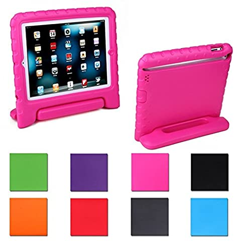 Ipad 2 Kids Case : Safe Shockproof Protection for Apple Ipad 2/3/4 (2nd, 3rd, & 4th Gen)(berry Blue) Kid Proof + Ultra Lightweight + Comfort Grip Carrying Handle + Folding Stand (Ipad Fourth Generation Case Speck)