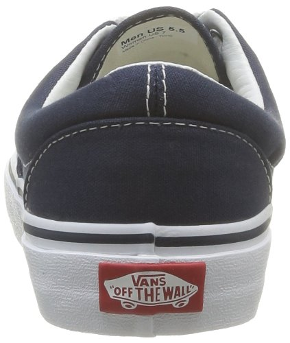 Durable Style Lace up Shoes Top Era Vans Low Canvas Original Classic Unisex Stitched Skate and Navy Outsole Waffle in Double wzpqP4