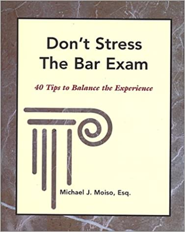 Book Don't Stress The Bar Exam