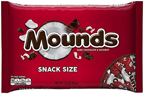 Mounds Snack Size Bars - 11.3 ()