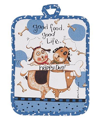 Kay Dee Designs Happy Dog Potholder