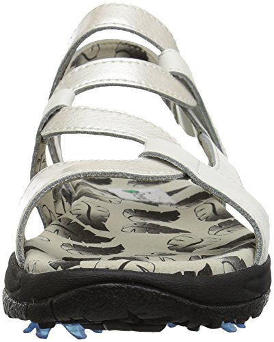 Pictures of Golfstream Women's Spike Sport Sandal Patent G4022 5