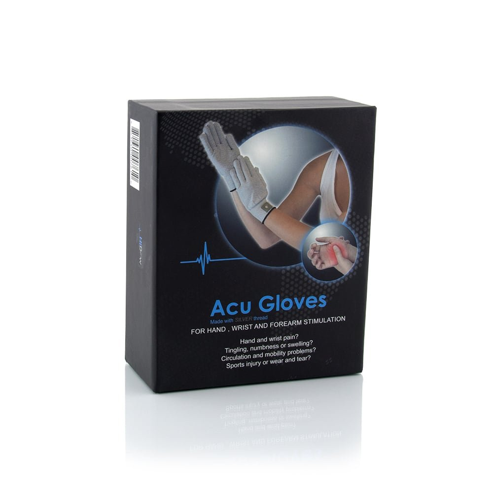 Hi-Dow Acu-Gloves TENS Electrode Pain Treatment & Diabetes, Neuropathy, Carpal Tunnel, Arthritis Electrotherapy