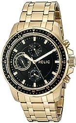 Relic Men's 'Heath' Quartz Stainless Steel Casual Watch (Model: ZR15834)