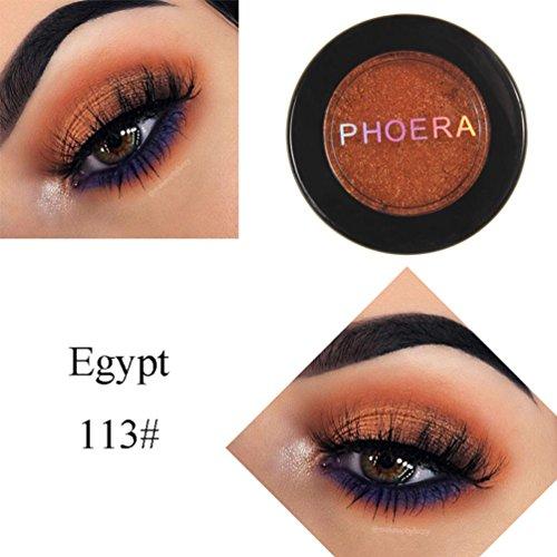 D-XinXin 1Colors Monochrome Eye Shadow of Mashed Potato,Glitter Shimmering Colors Eyeshadow Metallic Eye Cosmetic (M) ()