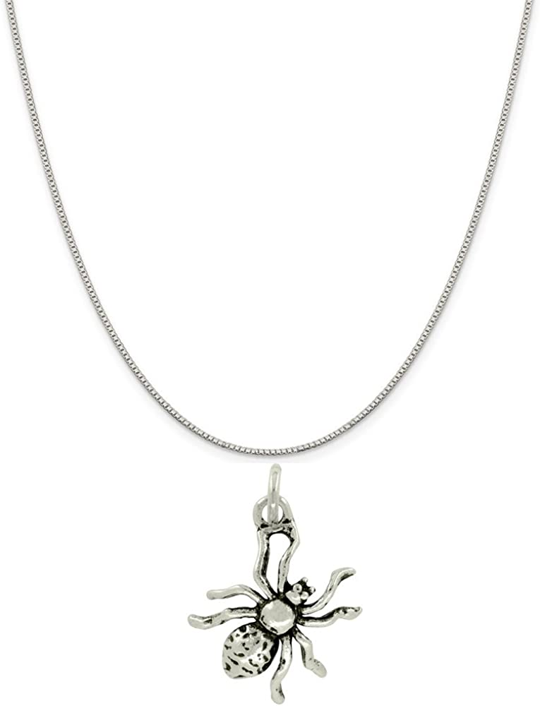 Sterling Silver Hot Rod Car Charm on a Box Chain Necklace
