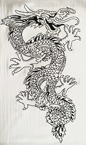 Men's Light Weight 100% Cotton Dragon Shirt (XXL) by Love Quality (Image #2)