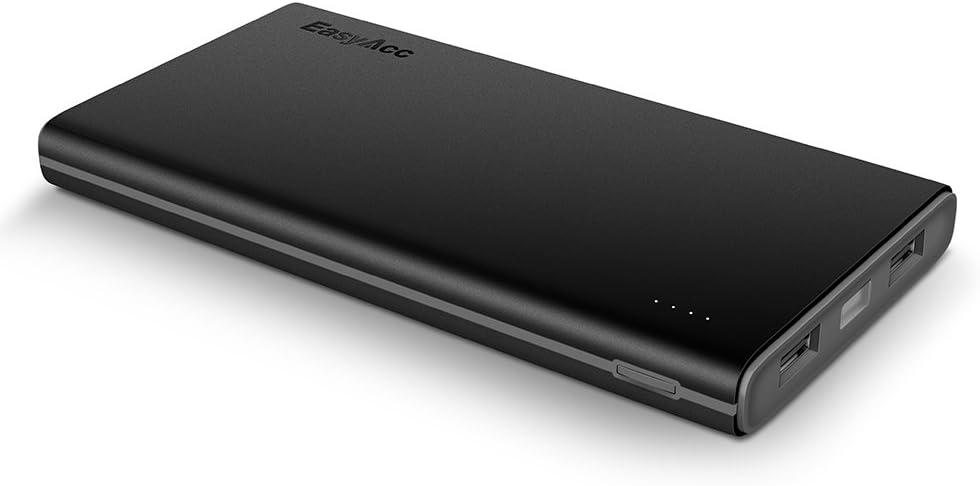 EasyAcc Batteria Esterna 10000mAh Portatile Caricabatterie Powerbank per iPhone 8 Plus X iPad Samsung S7 Edge s6 Tablets