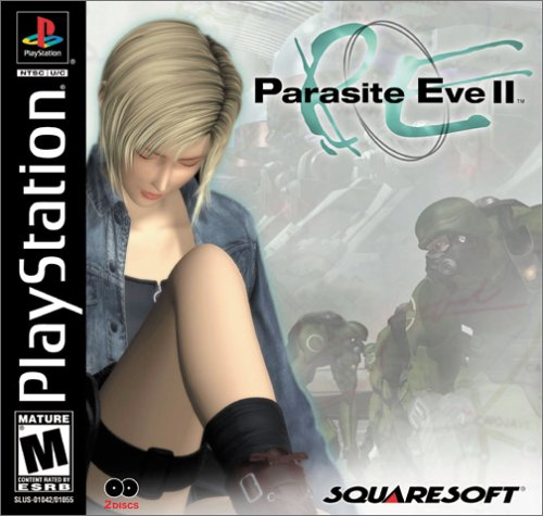Parasite Eve 2 >> Amazon Com Parasite Eve Ii Playstation Video Games