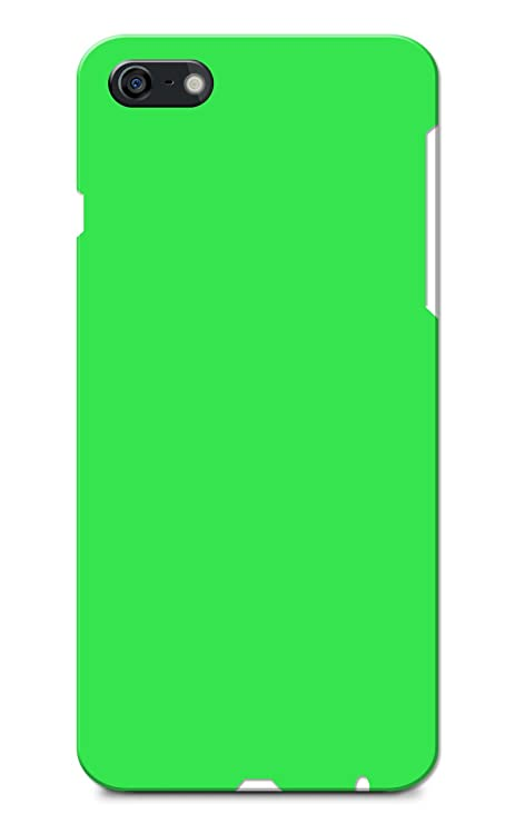 best website dcb0c cfab4 iPhone 6 Case, iPhone 6S Case, Plain Neon Green Slim: Amazon.in ...