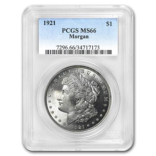 1921 Morgan Dollar MS-66 PCGS $1 MS-66 PCGS