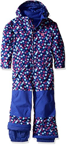 Burton Girls Minishred Illusion One Piece Jacket, Ikat Dot, Size (Burton Suit)