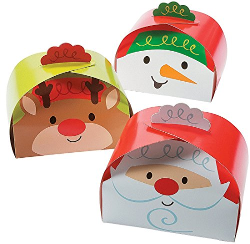 Large Christmas Gift Treat Boxes