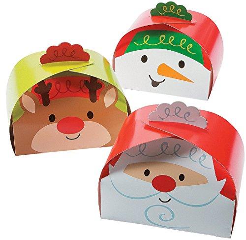 Large Christmas Gift Treat Boxes