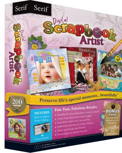 Software Artist Scrapbook Digital - Serif Digital Scrapbook Artist