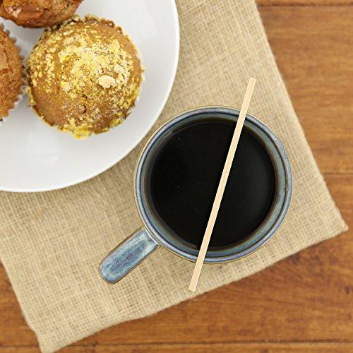 """Royal Wood Coffee Beverage Stirrers, 5.5"""""""
