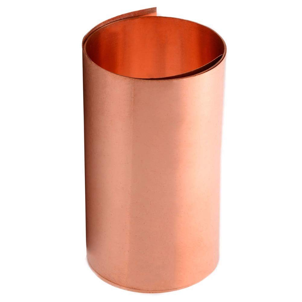 SOFIALXC 99.9% Pure Copper Sheet Metal Plate-Thickness0.5mmx300mmx1000mm by SOFIALXC