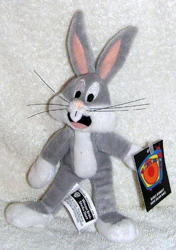 "Warner Bros Studio Store 6"" Plush Bugs Bunny Mini Bean Bag Doll"
