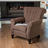 Haywood Channel-Brown Backed Club Chair
