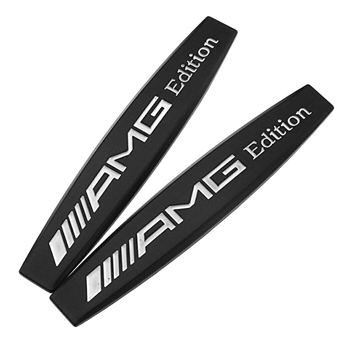 AMG Edition 1  x 2 S 63 New Genuine MERCEDES S63 AMG emblem decal set
