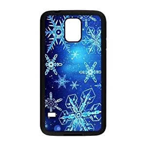 Perfect as Christmas gift-Christmas Snowflake Design case Hard Plastic PC Protective Cover case Accessories for Samsung Galaxy S5 Case-02