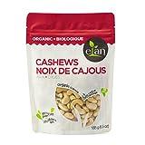 ELAN Organic Raw Cashews 185 Gram