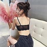 Qianerzi Value 2 Pack Women's Bond Lace Sports Bra