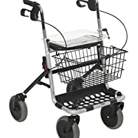 Invacare - Andador con ruedas y bandeja, color