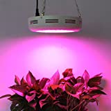 LED Plant Grow Lights , Roleadro 180W UFO LED Indoor Patio Plants Grow Lamp with Red Blue Spectrum Hydroponics,Plant Kit for Germination,Vegetative&Flowering