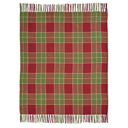 VHC Brands Christmas Holiday Pillows & Throws - Robert Red W