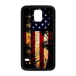 EROYI American Flag USA Bald Eagle Cell Phone Case for Samsung Galaxy S5