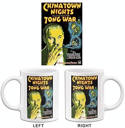 Amazon Com Chinatown Nights Tong War 1929 Movie Poster Mug Kitchen Dining