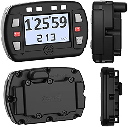Alfano anuncios GPS Lap Timer Gauge, Go Kart, coche, motocicleta – pequeño modelo pantalla: Amazon.es: Coche y moto