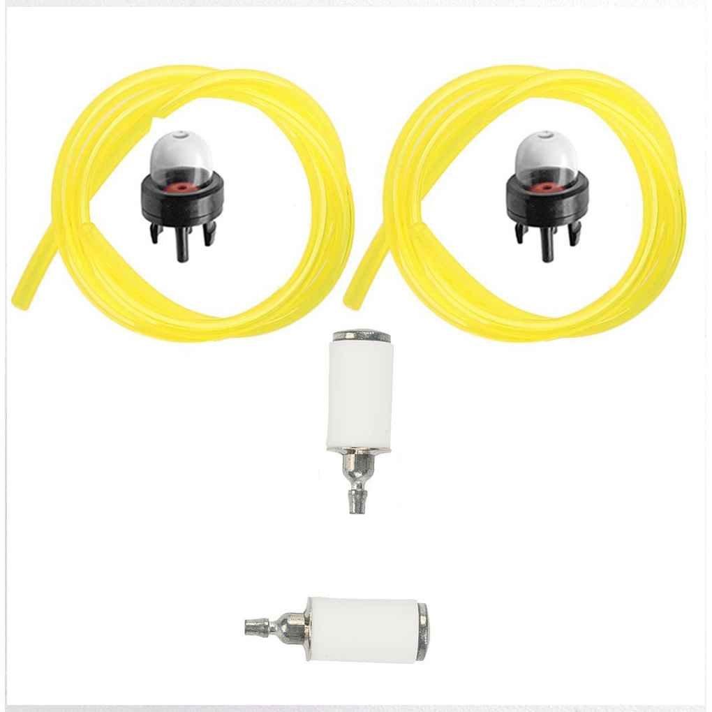 Air Filter Fuel Line Filter Spark Plug Tune Up Kit Set for Poulan Craftsman Chainsaw 530057925